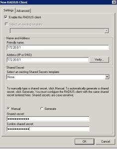Sonicwall SSL VPN Radius client