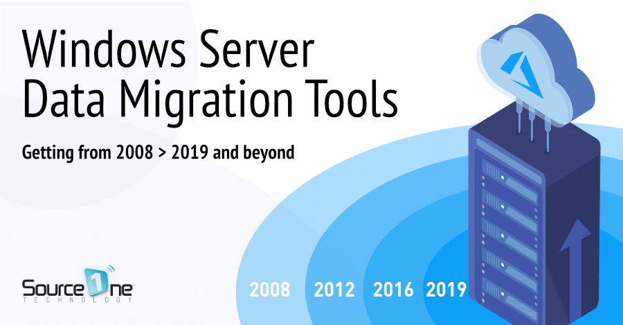 Windows Server Data Migration Tools and Best Practices 2008 up to 2019