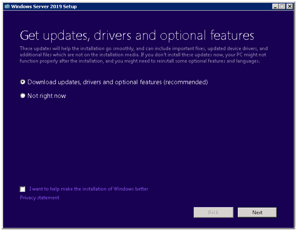 Windows Server 2008 End of Life: Running an in-place upgrade to Windows Server 2019