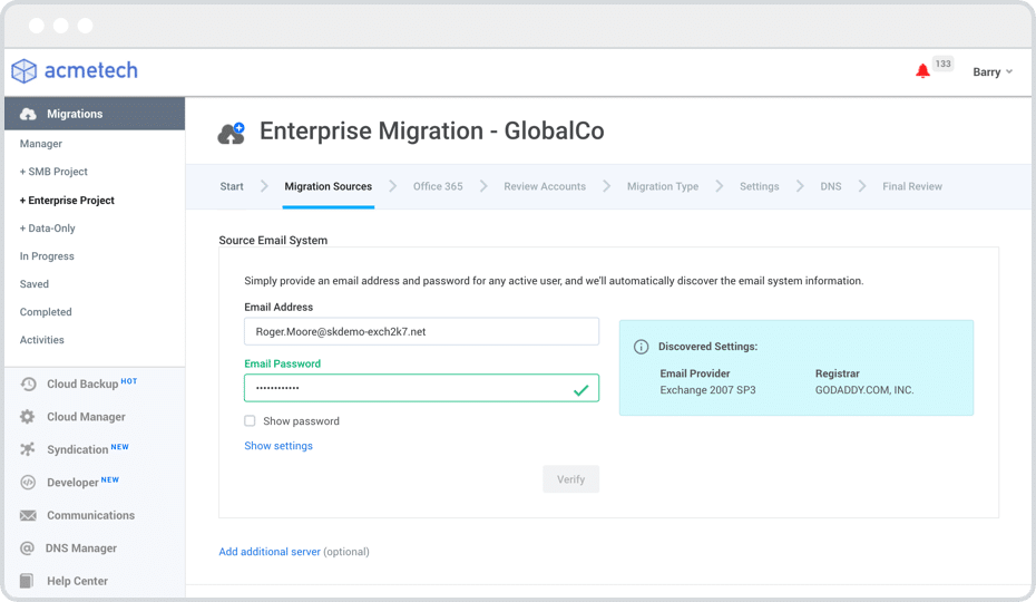 Skykick office 365 migration