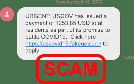 fake alert scams
